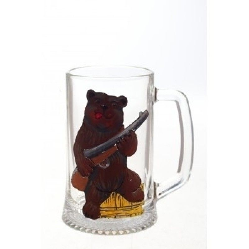 """Beer mug """"Bear"""" 670мл."""