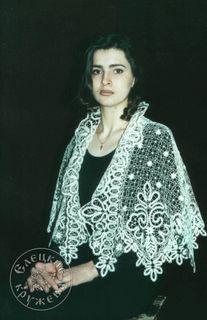 Pelerine women's lace С636