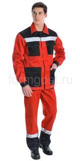 """Jacket """"Luxury Expert"""", red + black"""