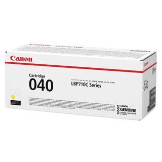 Laser cartridge CANON (040Y) i-SENSYS LBP710Cx / LBP712Cx, original, yellow, yield 5400 pages