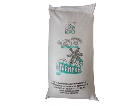 Wheat flour 'Starmel', first grade (50 kg)