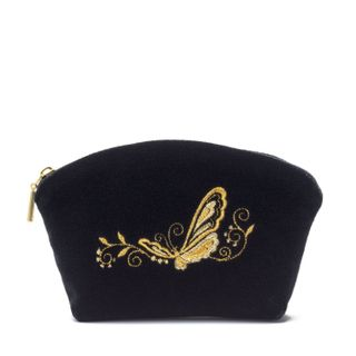 "Velvet cosmetic bag ""Butterfly"""