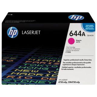 Toner cartridge HP (Q6463A) ColorLaserJet CM4730, magenta, original, yield 12000 pages.