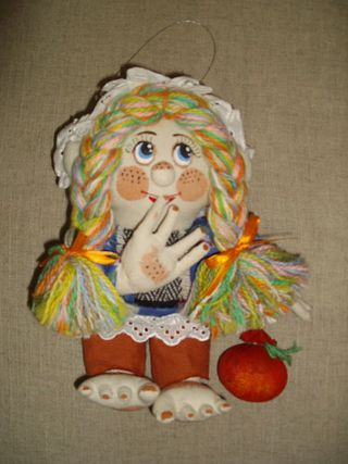 Doll textile Arishka