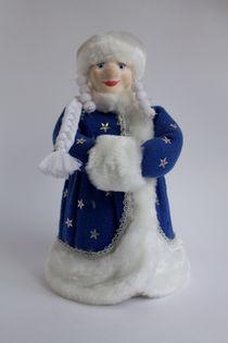 The snow maiden (porcelain, fleece) Doll gift