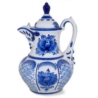 The Eastern pitcher 1.8 l 2nd grade, Gzhel Porcelain factory