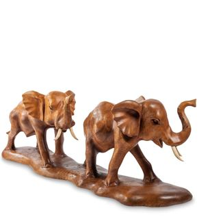 Figurine wooden Elephants