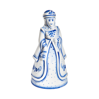 Damask maiden, Gzhel Porcelain factory