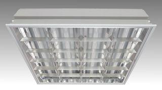 LVO 4х18-CSVT 595x595 - Fluorescent office recessed luminaire