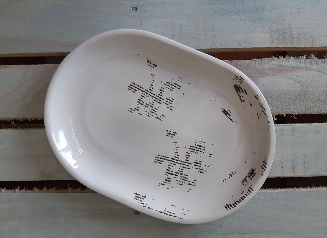 "Horex / Dish ""Gazzetta Bianco"" oval 6 pcs."
