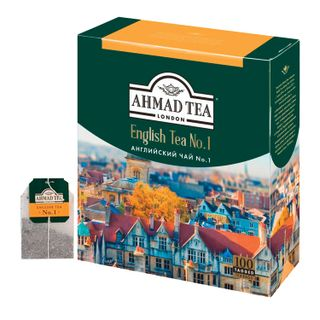 "AHMAD / Tea ""English Tea No. 1"", black, 100 sachets with 2 g tags"