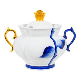 The rose bowl, Gzhel Porcelain factory