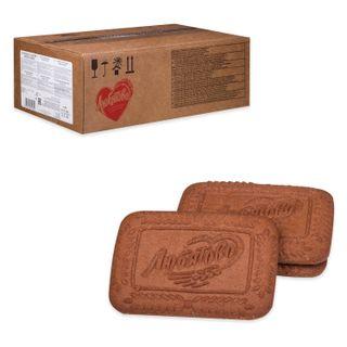 "LYUBYATOVO / Cookies ""Chocolate"", sugar, by weight, 4.7 kg, corrugated box"