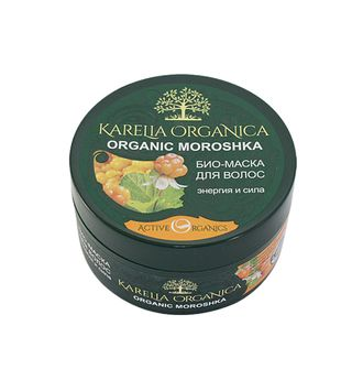 BIO-MASK FOR HAIR ORGANIC MOROSHKA (СLOUDBERRY) (for all types of hair) Energy and strength. Other bio-mask series: ORGANIC BERYOZA (BIRCH) for damaged hair intensive strengthening and restoration; ORGANIC OBLEPIKHA (SEA-BUCKTHORN)for all types of hair, d