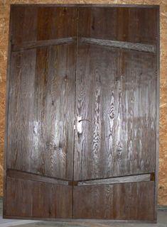 Brass door double door