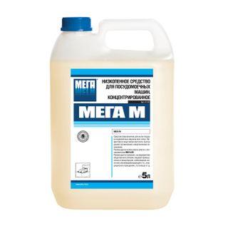 Dishwashing detergent in dishwashers 5 l, MEGA M, low foam, concentrate