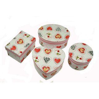 Gift box Flower round capacity 150g.