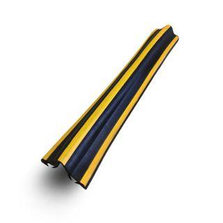 Damper angular rubber straight DU-15