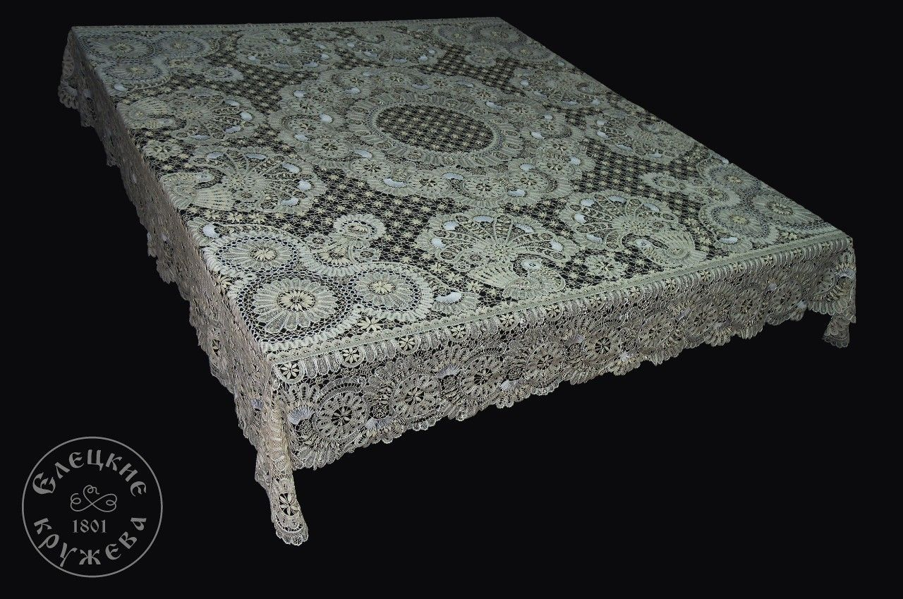 Yelets lace / Lace tablecloth 24-97