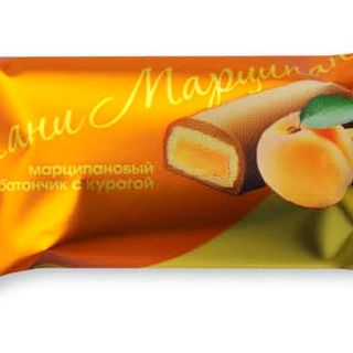 """Candy """"Pani Marzipan"""" with dried apricots"""