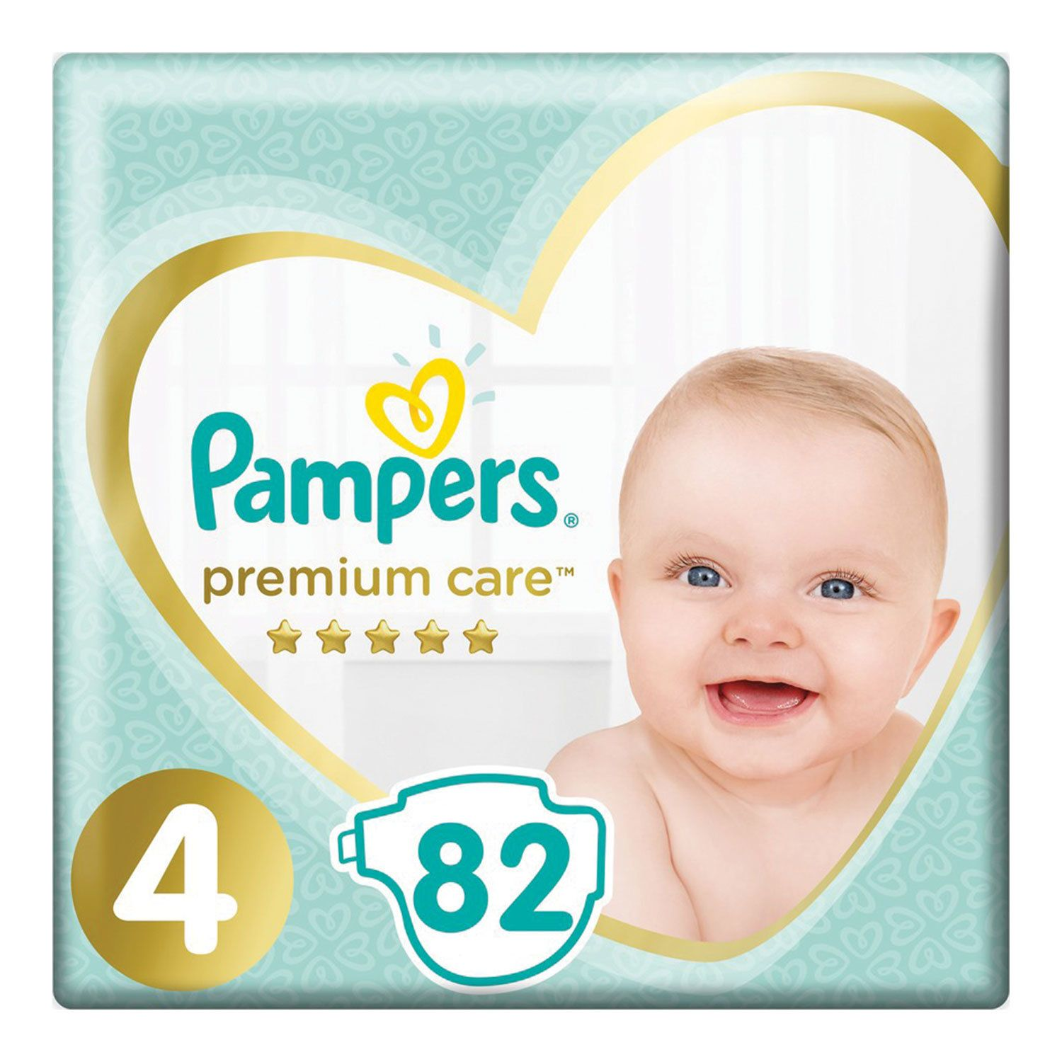 PAMPERS / Premium Care diapers, size 4 (9-14 kg), 82 pcs.