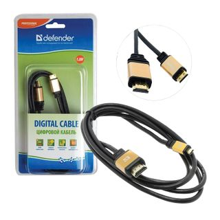 DEFENDER / HDMI-mini HDMI cable, 1.8 m, MM, for digital audio-video transmission