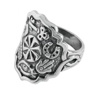 """Ring 70138 """"All charms"""""""