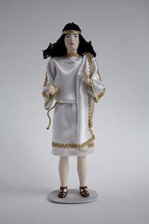 Doll gift. Greece, men suit