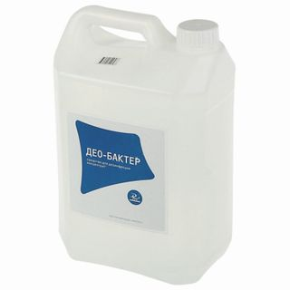 Disinfectant 5 l DEO-BACTER, concentrate