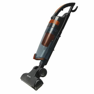 Vacuum vertical KITFORT KT-525-1, power consumption 600 watts, cyclonic filter 1.5 l, orange