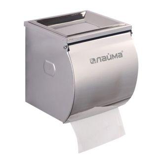 LIMA / Toilet roll dispenser, stainless steel, mirrored