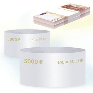 THE LATEST TECHNOLOGIES / Ring parcels, set of 500 pcs., Denomination of 50 euros