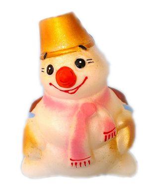 Bright, colorful Snowman