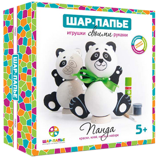 "Set of BALL-PAPER ""Panda"""