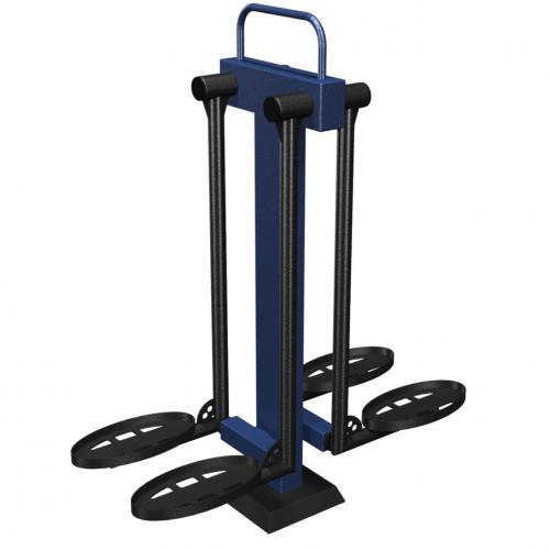 MB Barbell / Outdoor Leg Curl Strength Machine