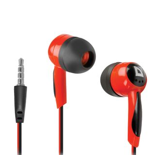 DEFENDER / Headphones Basic 604, wired, 1.2 m, in-ear, black with red