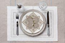 A set of linen napkins for appliances - Placemata