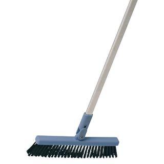 VILEDA / Legoland scoop brush (602137), width 25 cm, bristle height 9 cm, aluminum handle 90 cm