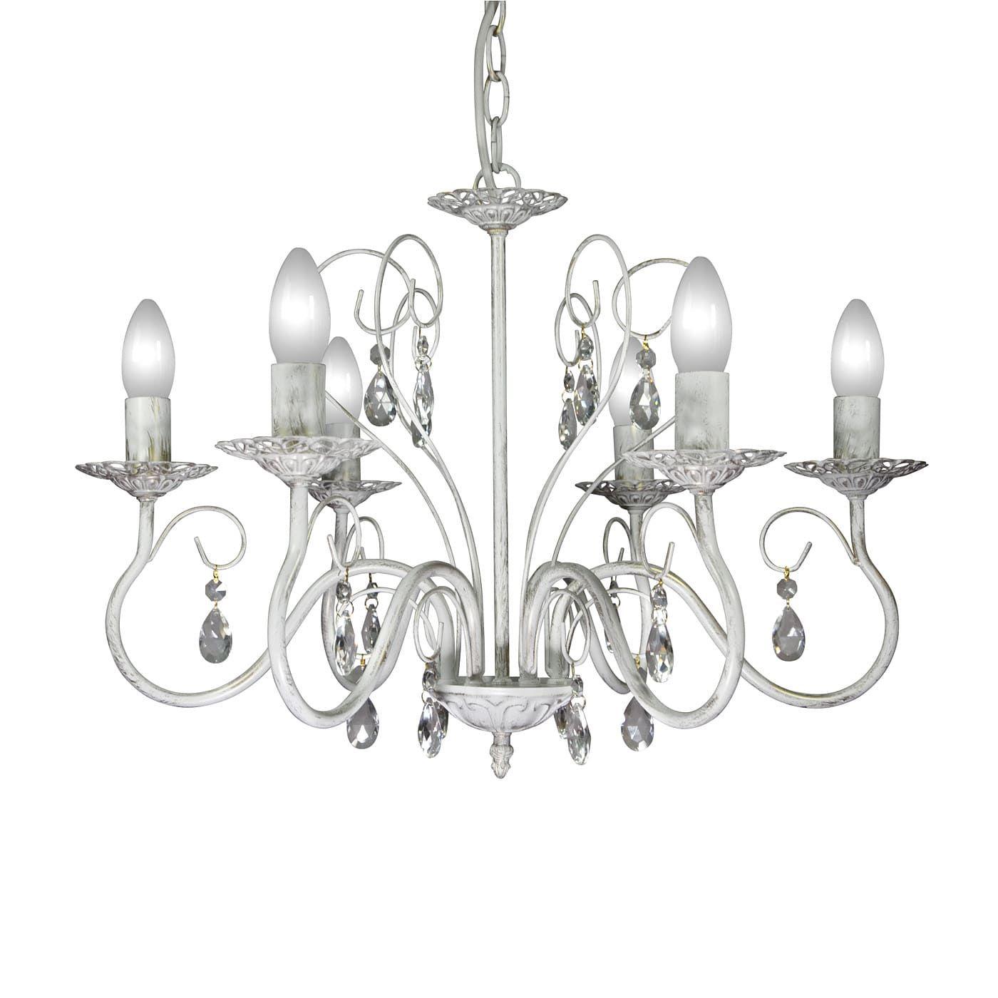 PETRASVET / Pendant chandelier S1163-6, 6xE14 max. 60W