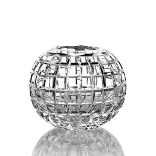 "Crystal vase for flowers ""Razotvet"" large colorless"