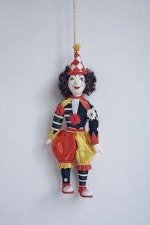Doll gift. Clown