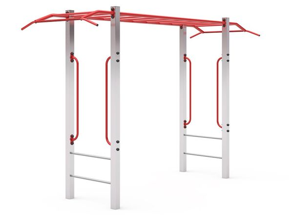 D405 climbing frame for the Playground powder paint