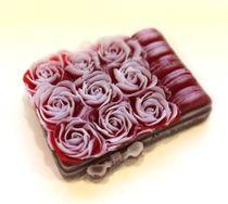 Handmade soap Delicate roses