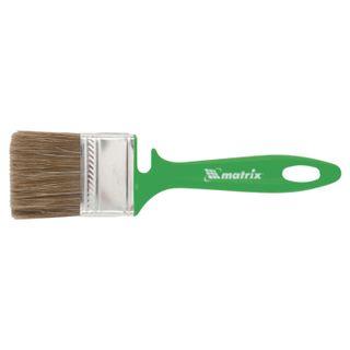 Brush flat 50 mm, mixed bristles, plastic handle, wood work, MATRIX