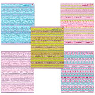 Notebook A5, 48 sheets, ALT, staple, cage, glossy varnish,