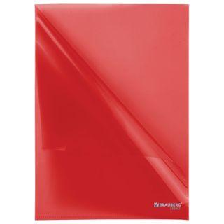 Folder area BRAUBERG, red 0.10 mm