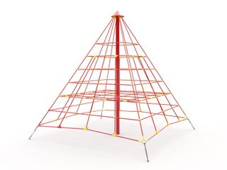 Pyramid D400 Playground coating hot-dip galvanizing