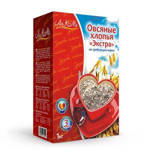 "Oatmeal flakes ""Extra"" 1 kg"