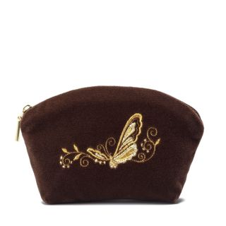"""Velvet cosmetic bag """"Butterfly"""""""