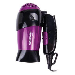 Fen SONNEN HD-209, 1200 W, 2 speed modes, folding pen, black/purple